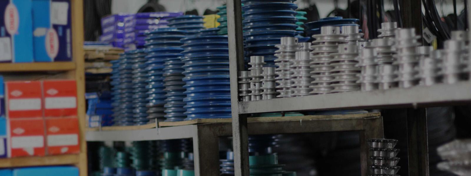 Variasi produk yang lengkap & spesifik pada komponen mesin industri adalah keunggulan kami